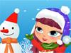Für Spaß im Schnee anziehen